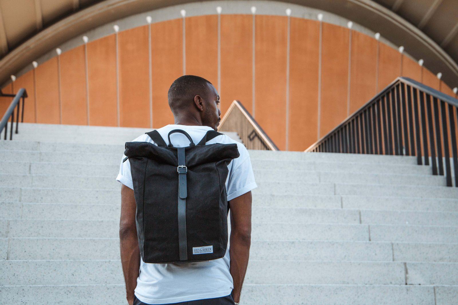 Fitz Huxley Urban Backpacks Stylische Ruckscke Fjallraven Kanken Laptop 15ampquot Forest Green Our